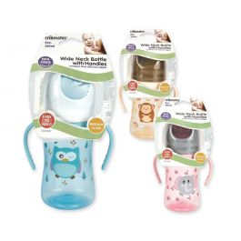 Cribmates Feeding Bottle With Handles Assist 8 Oz.