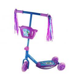 Disney Frozen 3 Wheel Scooter W' Basket