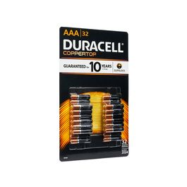 Duracell AAA batteries, 32ct.