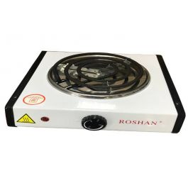 Roshan Compact Electric Stove Counter Top Easy Clean Hot Plate