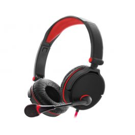 GX 50 Gaming Headset with Boom Mic Red