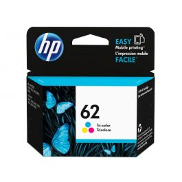 HP 62 Tricolor Original Ink Cartridge (C2P06AN#140)