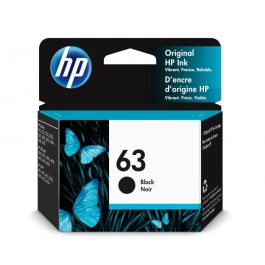 HP 63 Original Black Ink Cartridge