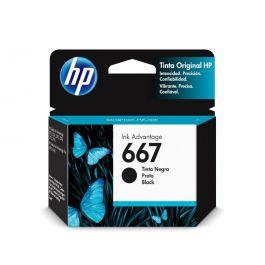 HP 667 Black Original Ink Cartridge 2 Pack