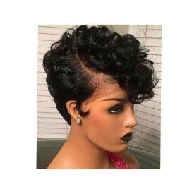 Human Hair Pixie Wig 8