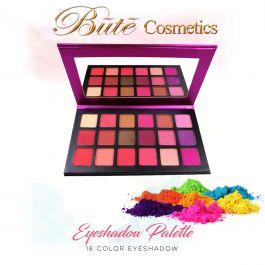 18 Rainbow Color Matte Eyeshadow Palette-18 BLK