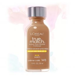 L'Oreal Paris Makeup True Match Liquid Foundation-W8