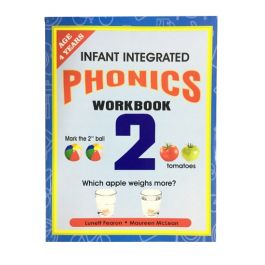 Infant Integrated Phonics Workbook 2 Age 4 Years by Lunett Fearon & Maureen McLean