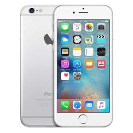 iPhone 6 Plus, 64GB, Silver, Excellent Condition and Free Screen Protector