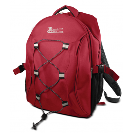 "KlipX Notebook Backpack 15.4"" KNB-405RD Red"