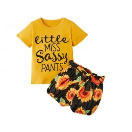 Little Miss Sassy Pants 2 Piece Set