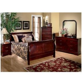Louis Mary 6 Piece Queen Bedroom Set