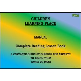 Children Learning Place Complete Reading Program Kit -Teach your child to read- Stage 1