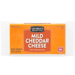 Member's Selection Mild Cheddar Cheese Block 2 lbs