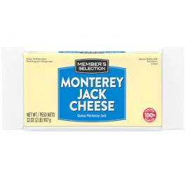 Member's Selection Monterey Jack Cheese 2 lbs