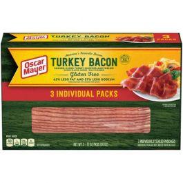 Oscar Mayer Turkey Bacon 3 x 12 Oz. Packs