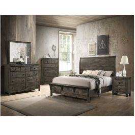 Peter King Size 6 Piece Bedroom Set