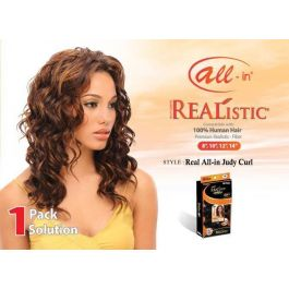 Realistic All-In Judy Curl Hair Extension #2