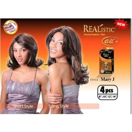 Realistic All-In Mary J Curl Hair Extension #4