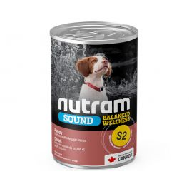 S2 Nutram Puppy Sound Balanced Wellness Wet Canned Food case of 12
