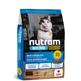 Nutram S5 Adult Senior Cat 1.13kg
