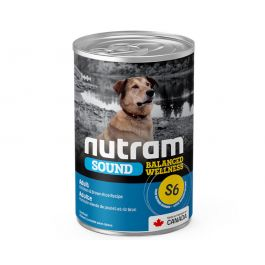 S6 Nutram Adult Sound Balanced Wellness Wet Dog Food Case of 12