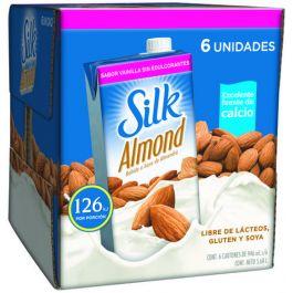 Silk 32oz Unsweetened Vanilla Almond Milk 6ct