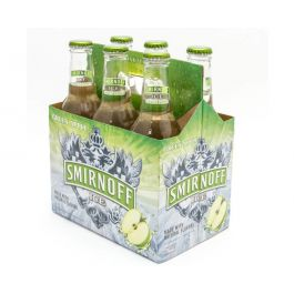 Smirnoff Ice Green Apple Bite 6 x 275ml Pack