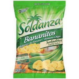 Soldanza Salted Banana Chips 12 Count