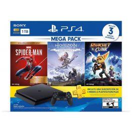 Sony PS4 Mega Pack Bundle Console