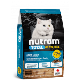 Nutram T24 Total Grain Free Salmon & Trout Cat Food 1.13kg