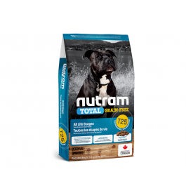 T25 Nutram Total Grain-Free Salmon and Trout Recipe Natural Dog Food 11.4kg