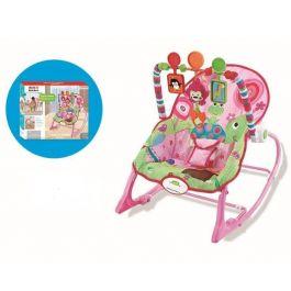 Wonder Baby Infant-to-Toddler Rocker Pink Flower