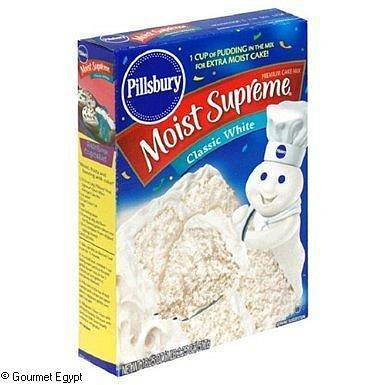 Pillsbury Classic White Cake Mix 432g