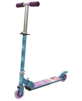 Disney's Frozen Purple Inline - 2 Wheel Scooter