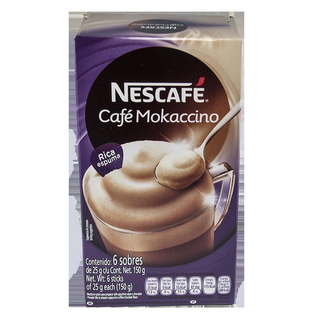NESCAFÉ Café Mokaccino Instant Coffee 25g Sticks (Display Box of 6)