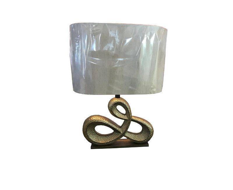 Zora Gold Base Textured Table Lamp