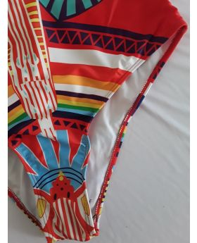 Tribal Print Swimwear