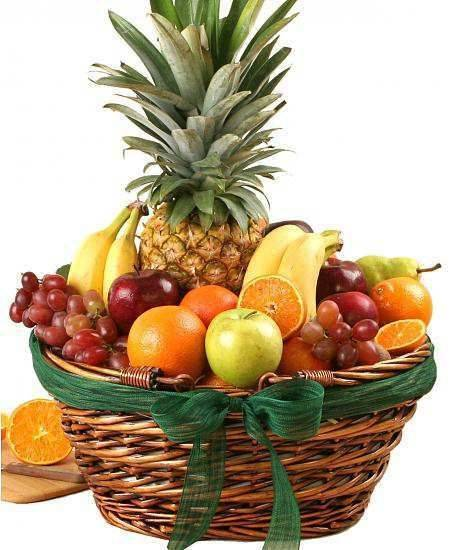 Super Deluxe Fruit Basket