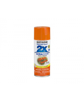 2X Ultra Cover Gloss Spray Paint 12 oz. Real Orange (3 pack)