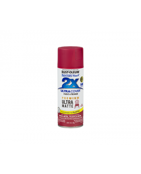 2X Ultra Cover Ultra Matte Spray Paint 12 oz. Red Currant (3 Pack)