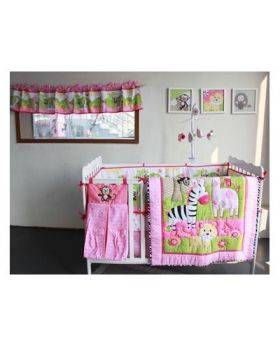 Crib Set - 7 Piece Jungle