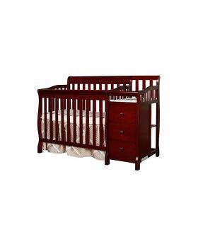Baby 5-in-1 Wooden Crib/Changer Combo