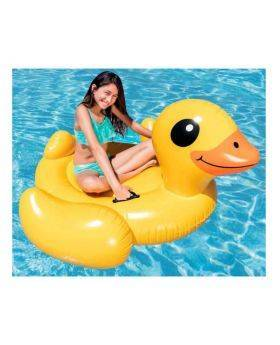 Yellow Duck Inflatable Ride-On