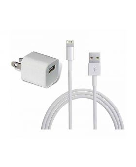 5W IPhone USB Power Adapter with Lightining USB Cable