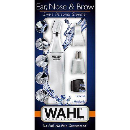 Wahl 3 in 1 Ear, Nose and Brows Trimmer 3902