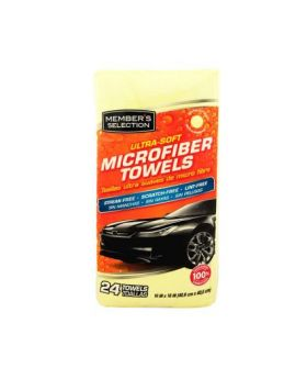 Member's Selection Ultra-Soft Microfiber Towels 24 Pack