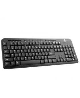 Xtech Keyboard Multimedia Wired English USB Black-XTK130E