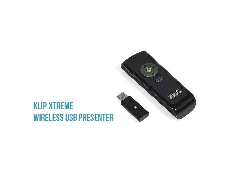 Klip Xtreme - Wireless USB Presenter - FCC-FDA-Cert