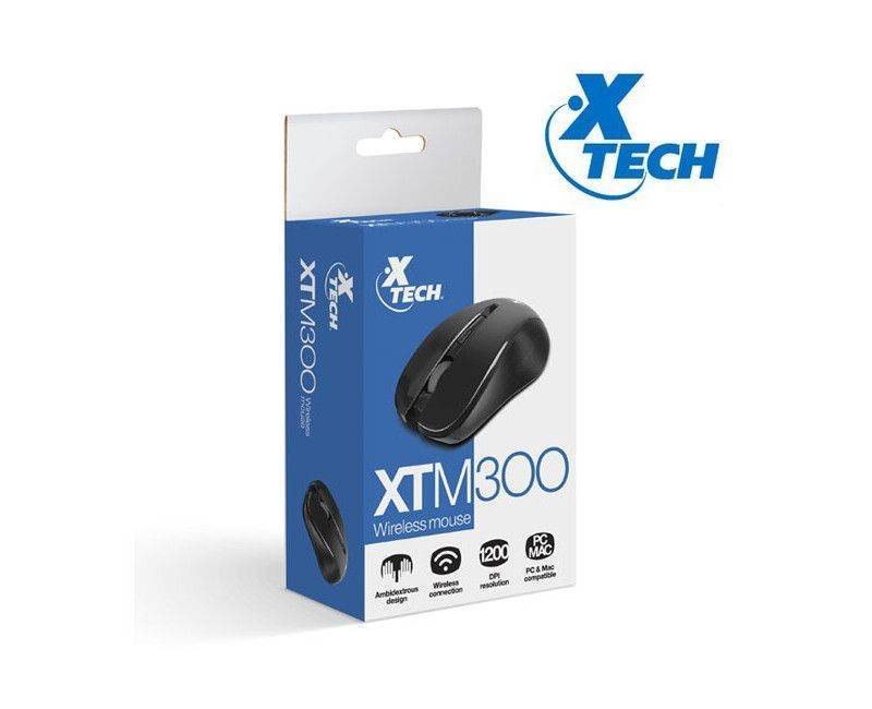 Xtech - Mouse - Infrared-2.4 GHz XTM-300